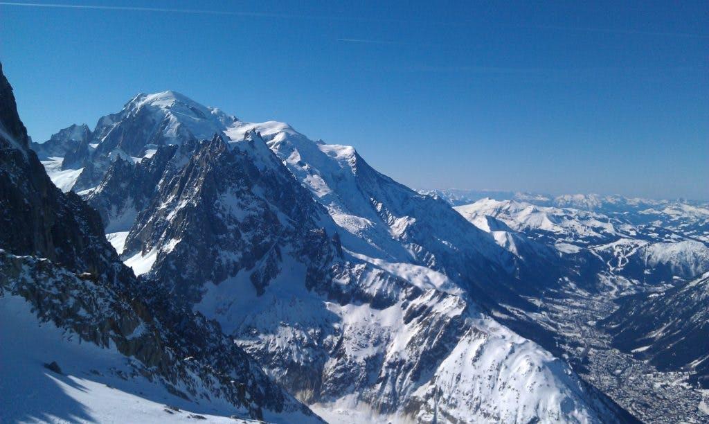 Mont Blanc och Chamonix - mental träning vintern 2012